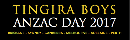 ANZAC Day 2017 – March Details