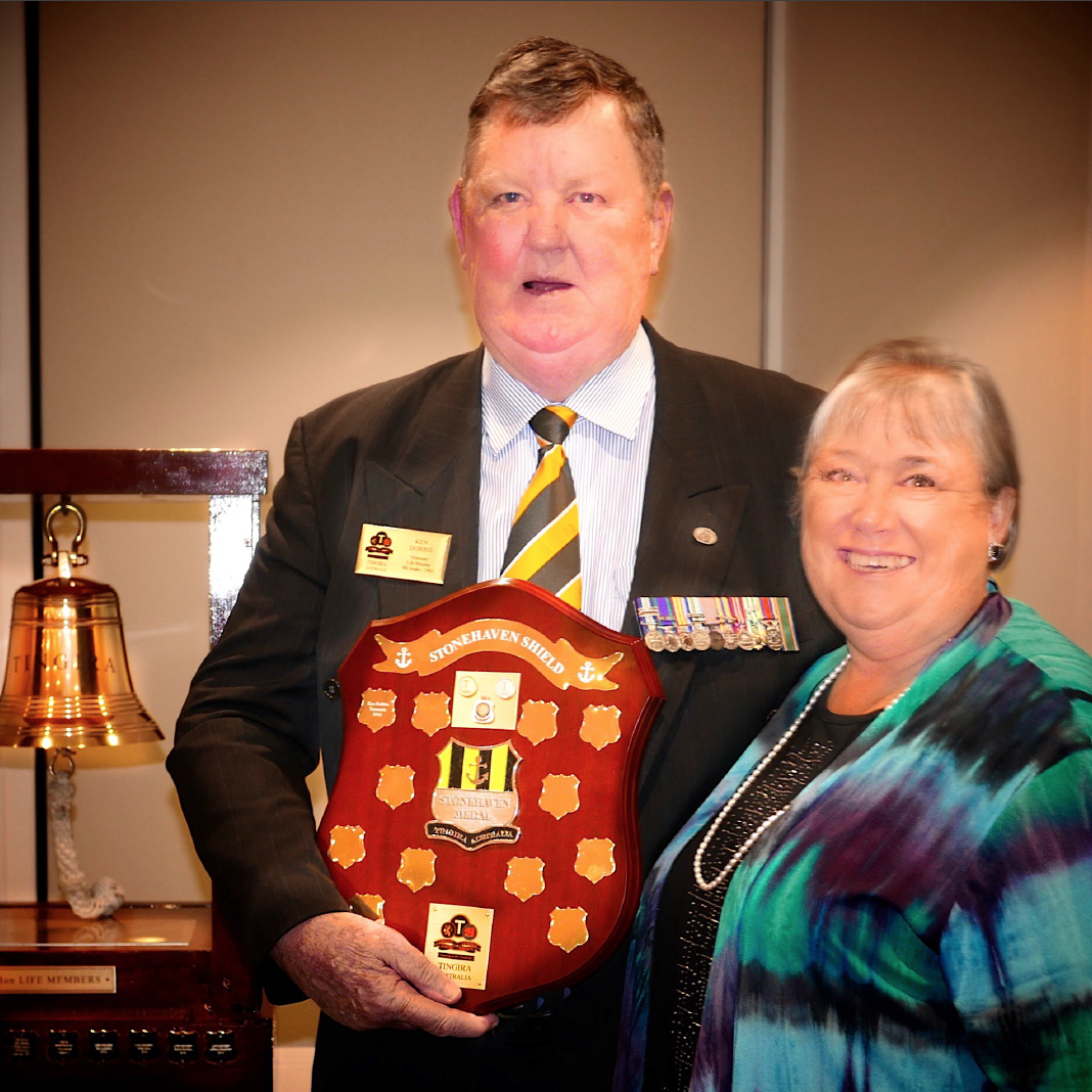 Stonehave Medal to Tasmanian Navy Veteran