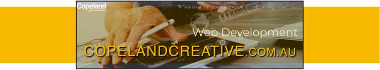 copeland creative web development