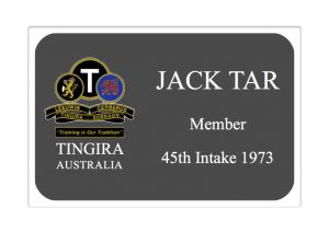 name badge general member