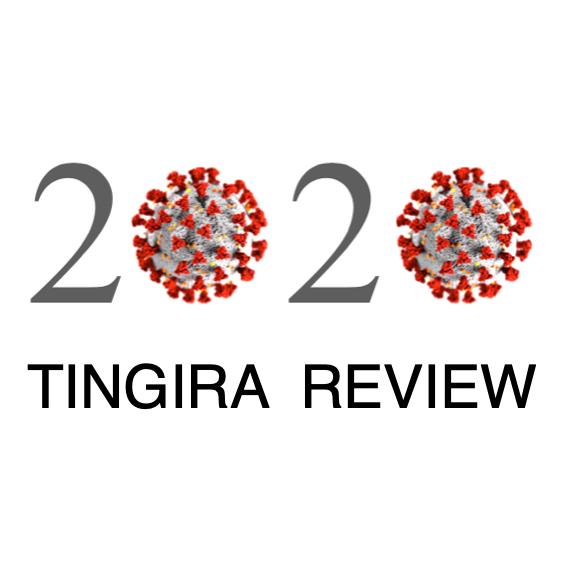 2020 tingira review cover