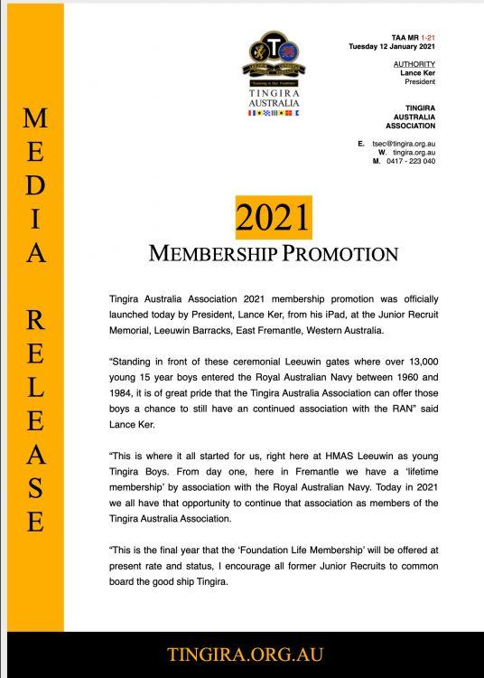 tingira membership promotion
