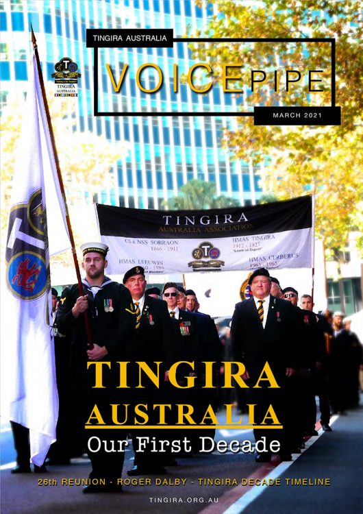 tingira voice pipe march 2021 cover