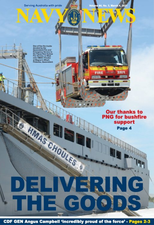 navy news march 2021 cover