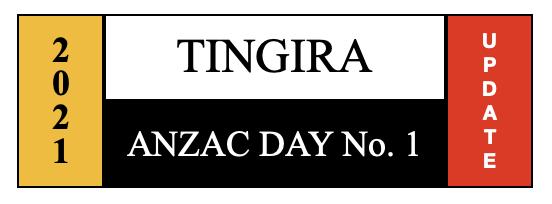 tingira anzac day no1
