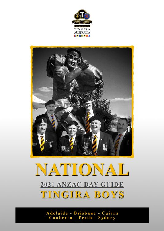 Anzac Day booklet