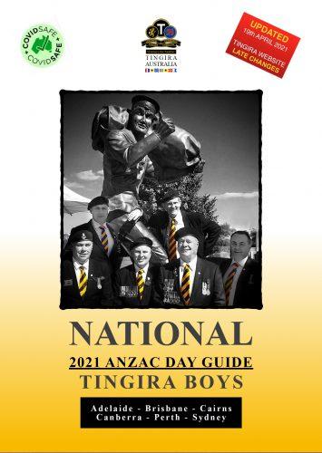 Tingira Anzac Day guide