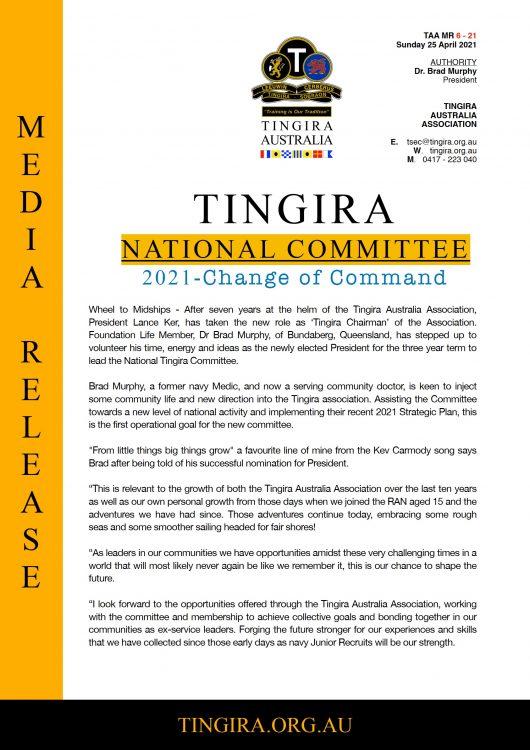 tingira new committee